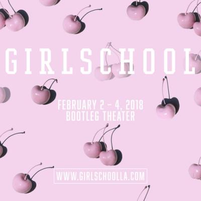 Girlschool 2018 Bootleg Theater Los Angeles Music and Ideas Festival Shirley Manson Kristin Kontrol Jay Som