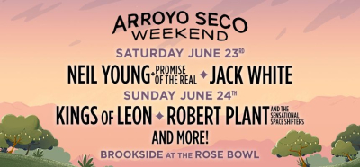 Arroyo Seco Weekend 2018 Neil Young Jack White Kings of Leon Robert Plant Los Angeles Brookside Rose Bowl Pasadena