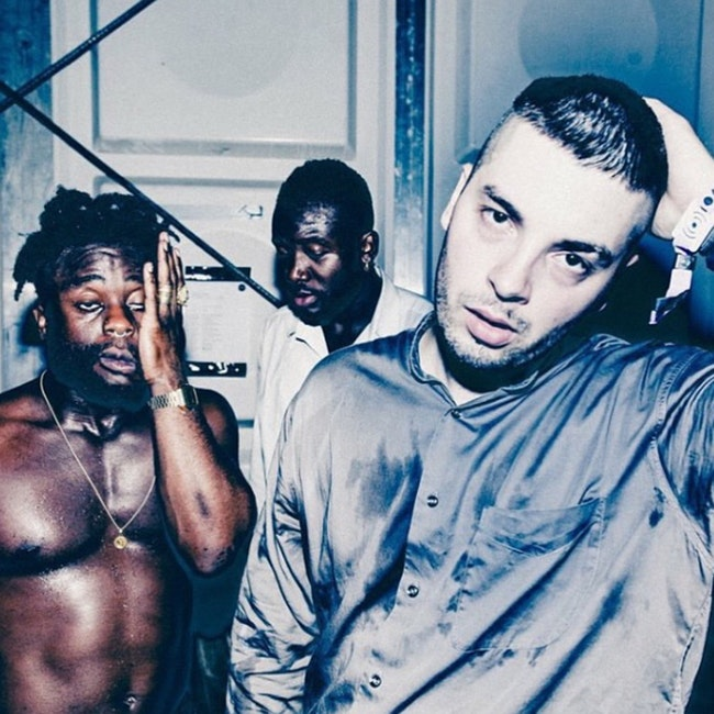 Young Fathers Moroccan Lounge DTLA Los Angeles 2018