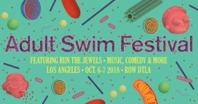Adult Swim Festival Los Angeles DTLA Row Run the Jewels Cartoon Network