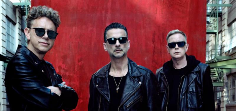 Depeche Mode 2018 Anaheim Honda Center Spirit Black Rebel Motorcycle Club