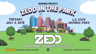 Zedd 2018 Los Angeles State Historic Park Downtown Medasin Oliver Tree Whethan