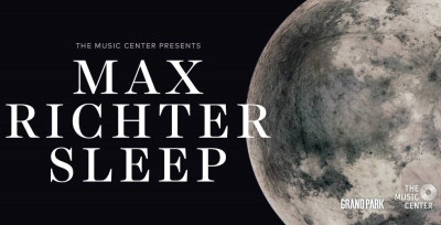 Max Richter 2018 Los Angeles Grand Park Downtown The Music Center Sleep