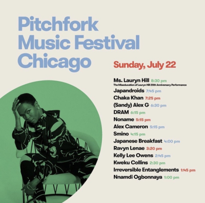 Pitchfork 2018 Sunday Set Times