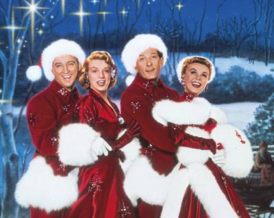 White Christmas 2018 Los Angeles Walt Disney Concert Hall Downtown Film Movie  Screening Singalong Bing Crosby