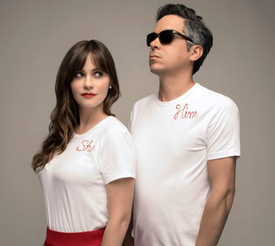 She And Him 2018 Los Angeles Wiltern Koreatown Zooey Deschanel M Ward A Very She And Him Christmas A Christmas Party Christmas Holidays
