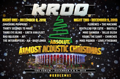 KROQ Almost Acoustic Christmas 2018 Los Angeles The Forum Inglewood Tickets