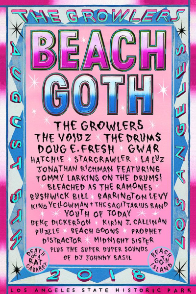 Beach Goth 2018 Los Angeles State Historic Park Downtown Music Festival