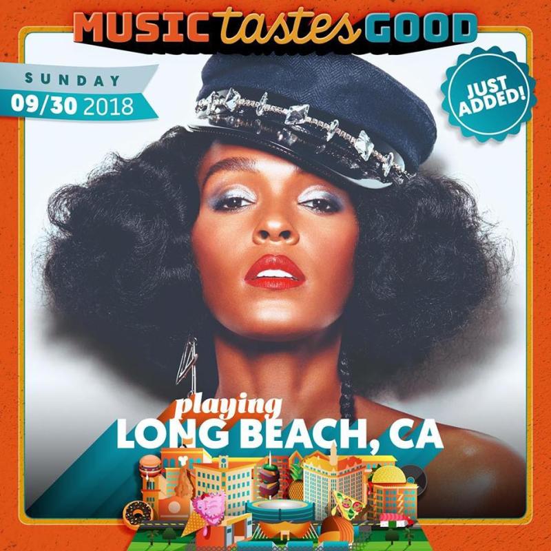 Music Tastes Good 2018 Janelle Monae Sunday Music Festival Lineup Los Angeles Marina Green Park Long Beach Tickets September Headliner