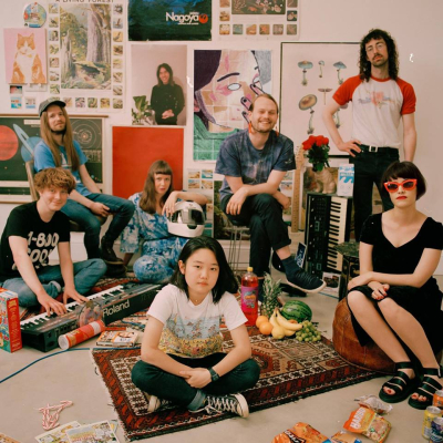 Superorganism 2018 Los Angeles Fonda Theatre Hollywood The Glass House Pomona Self-Titled