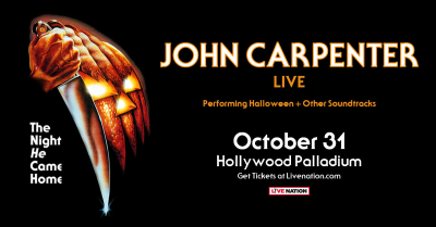 John Carpenter 2018 Los Angeles Hollywood Palladium Soundtrack Halloween