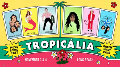Tropicalia 2018 Music Festival Long Beach The Queen Mary Sunday