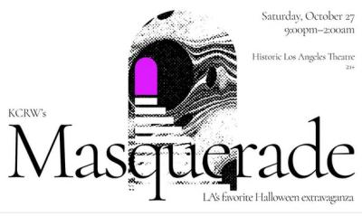 KCRW Masquerade Ball 2018 Los Angeles Theatre Downtown Presale