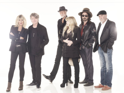 Fleetwood Mac 2018 Los Angeles The Forum Inglewood Neil Finn Mick Fleetwood Stevie Nicks Christine McVie John McVie Mike Campbell