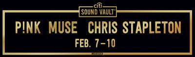 Citi Sound Vault 2019 Grammys Los Angeles Hollywood Palladium Pink Muse Chris Stapleton