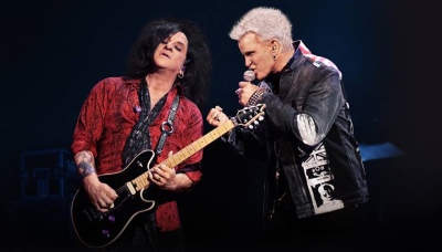 Billy Idol Steve Stevens 2019 Los Angeles Theatre at Ace Hotel Downtown