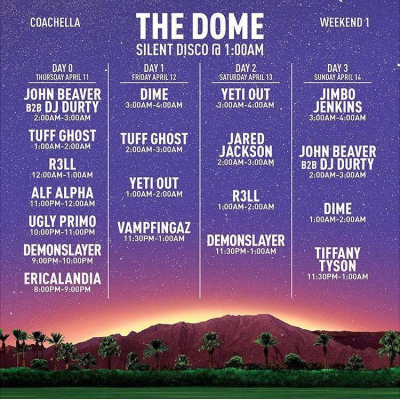 The Dome Weekend One