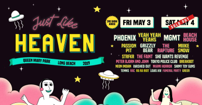 Just Like Heaven Music Festival 2019
