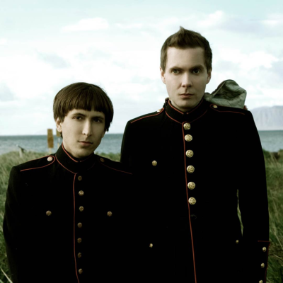 Jonsi of Sigur Ros and Alex Somers