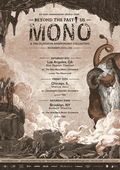 Mono Tour Poster 2019