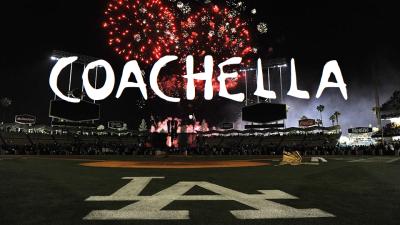 Dodgers Coachella Fireworks