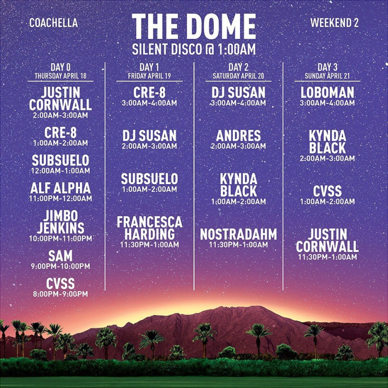 The Dome Weekend Two