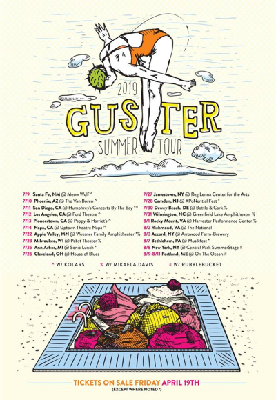 Guster Tour Poster