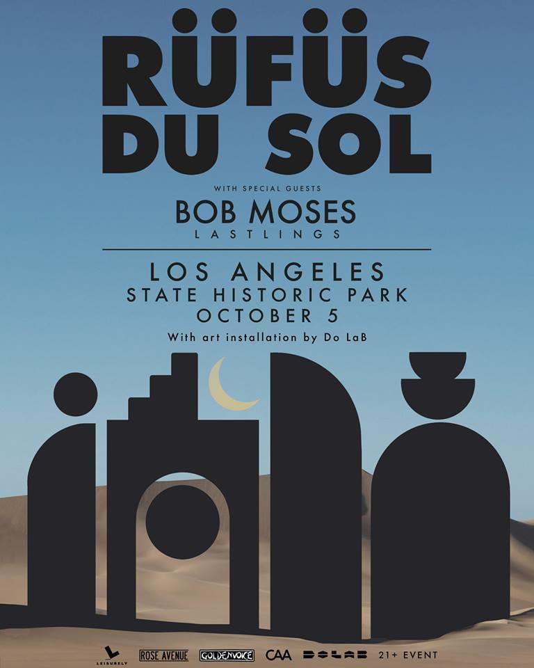 Rufus Du Sol Los Angeles State Historic Park