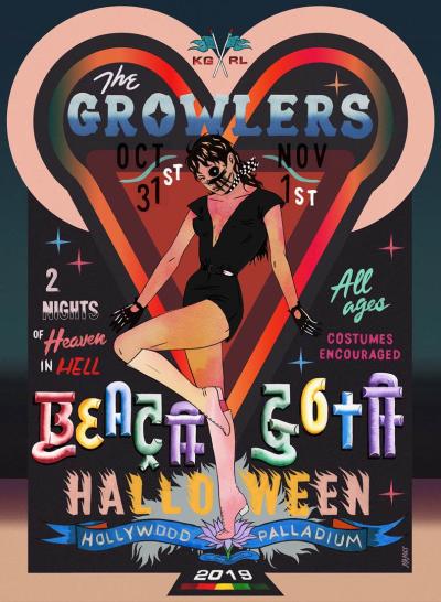 Beach Goth Halloween 2019