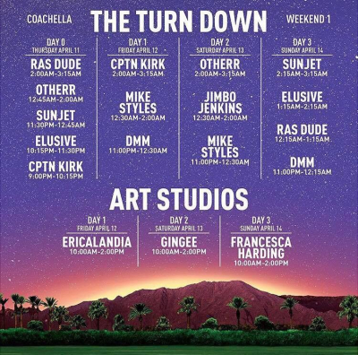 The Turndown Weekend One