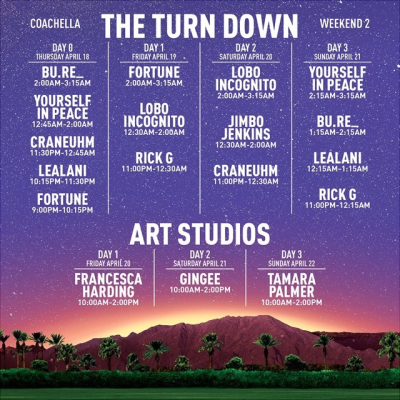 The Turndown Weekend 2