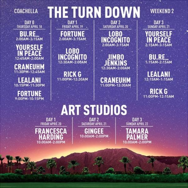 Complete Coachella 2019 Set Times & Lineup (The Scenestar)