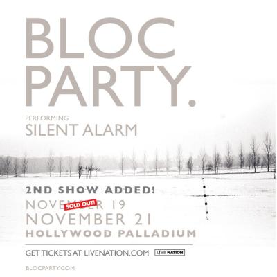 Bloc Party Silent Alarm