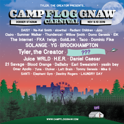 Camp Flow Gnaw 2019 Lineup