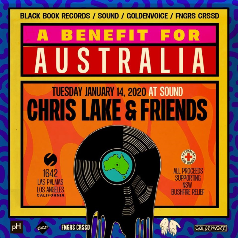 Chris Lake Benefit Show