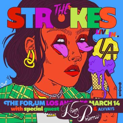 The Strokes Los Angeles