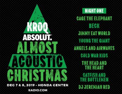 KROQ Acoustic Christmas 2019 Night One