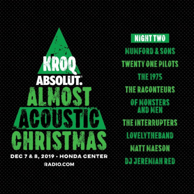 KROQ Acoustic Christmas 2019 Night Two