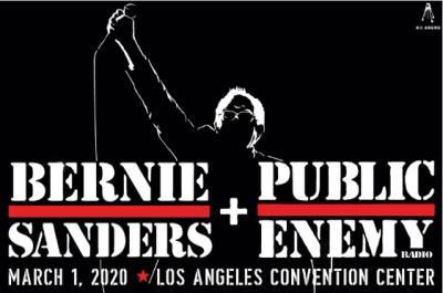 Bernie Sanders Public Enemy