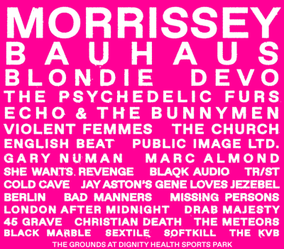 Cruel World Festival Poster