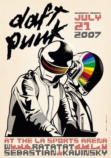 Daft Punk Poster 2007