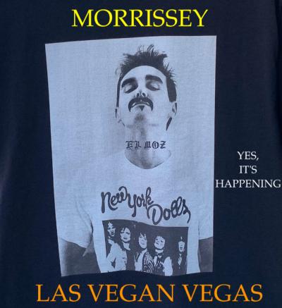 Morrissey Viva Moz Vegas Las Vegas Residency 2021