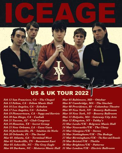 Iceage Tour 2022