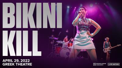 Bikini Kill at the Greek Theatre in Los Angeles