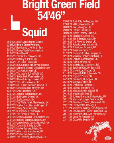 Squid Tour 2021