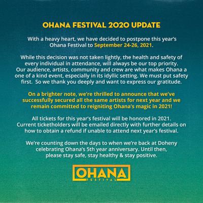 Ohana Fest 2021