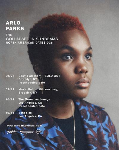 Arlo Parks Tour