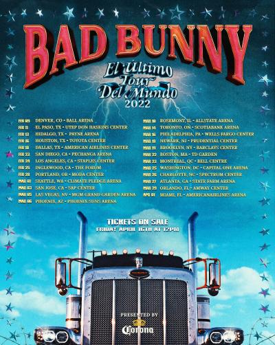 Bad-Bunny El Ultimo Tour Del Mundo 2022