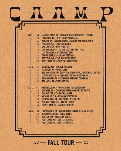 CAAMP Tour 2021