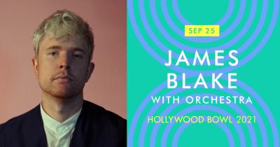James Blake at the Hollywood Bowl